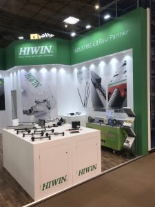 Hiwin and CRD Devices attended the PPMA Show 26-28 September 2017